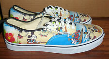 MENS VANS X DISNEY ALOHA MICKEY MINNIE MOUSE CLASSIC LACE UP SHOES SIZE 12