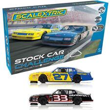 Scalextric C1383T Stock Car Challenge : 1:32 Slot Car / Track Set