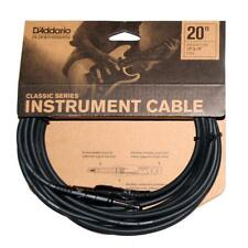 D'Addario Planet Waves 20' Classic Series Instrument Cable- Straight- Straight