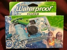 FujiFilm Quicksnap Waterproof Disposable Camera 27 Exposures Expires 2019