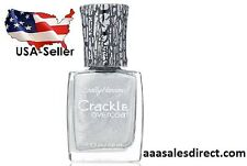 SALLY HANSEN CRACKLE OVERCOAT - 0.4 FL OZ - BRAND NEW - FRACTURED FOIL