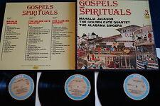 Golden Gate Quartet, The Alabama Singers - Gospels And Spirituals, 3x LP, vg++