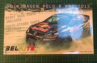 BELKITS 010 1:24th scale VW Polo R WRC Monte Carlo 2015 Ogier Red Bull Model Kit