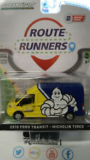 Greenlight Route Runners 2019 Ford Transit Michelin Tires (NG08)