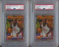 1993 Topps Finest Basketball Jumbo Foil Pack Lot of Two PSA 9 Michael Jordan ?