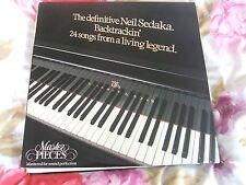Neil Sedaka, The Definitive, 24 Songs, double lp on Starblend
