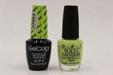 (GCN33 + NLN33) - OPI GelColor + Nail Lacquer - Life Gave Me Lemons .5 oz