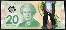 Banknote - 2012 Canada $20 Twenty Dollar Polymer, P108b, UNC