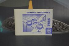 Manual Instructions Marble Madness (Master System Ms 1992) Doesn'T Game
