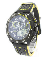 DISPLAY MODEL CITIZEN ECO DRIVE PROMASTER CHRONOGRAPH WORLDTIME WATCH JW0125-00E