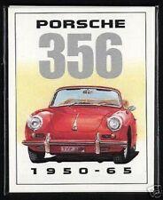 PORSCHE 356 - Original Tarjetas Coleccionistas - 356a, 356c conductor rápido,