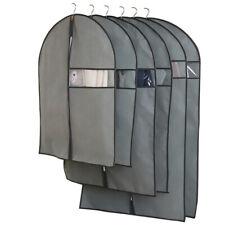 Funda de tela de plástico a prueba de polvo traje/Vestido Protector De Almacenamiento Bolso De Ropa M/L/XL