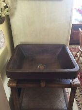Premier Copper Products Old World Lavatory Sink