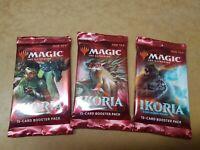3x MTG: Ikoria Lair of Behemoths Booster Draft Pack Magic the Gathering Cards