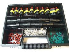 AMP Superseal Stecker 10 x  3-polig + Box Auto Motorrad Quad Hobby