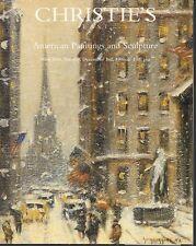 Christie's Sale 7947 American Paintings & Sculpture Auction Catalog 1996