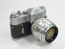 Rarity ! Extremely rare silver 85mm f/2 JUPITER-9 Zenit M39 M42  s/n 6401174
