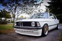 For BMW E21 Front Bumper lower bbs lip spoiler chin skirt valance gtr evo M3 M