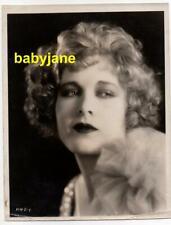 ESTHER RALSTON ORIGINAL 8X10 PHOTO 1928 LOVELY PORTRAIT SAWDUST PARADISE DBL WGT