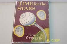 TIME FOR THE STARS Robert Heinlein USA hardcover W/jacket 1956, English Sci-fi