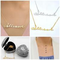 "New in Box /""Heidi/"" Personalized Name Necklace by Designer Marina DeBuchi"