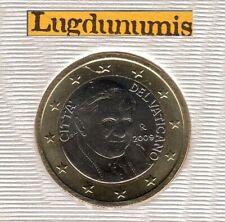 Vatican 2009 1 Euro BU FDC 91400 exemplaires Provenant du BU RARE - Vaticano