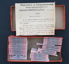 Boite 51 paquet papier cigarette PAPEL ALCATRAO rolling paper zigarettenpapier