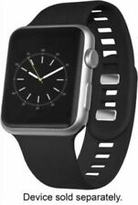 Sport Band WESC03802 Silicone Band for Apple Watch 38mm - Black