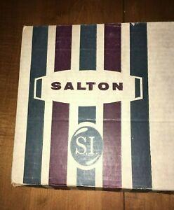 NOS Vintage 1960s Mid Century SALTON GOURMET AUTOMATIC FOOD WARMER H-121 Works