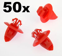 50x Toyota Wheel Arch, Wing, Fender Flare Plastic Trim Clips for Arch Mouldings