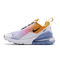 Nike Wmns Air Max 270 Gold Blue Pink Gradient Womens Running Shoes AH6789-702