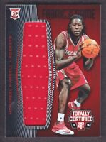 2015-16 Totally Certified Rookie Fabric Game Jersey Red MH Montrezl Harrell /199