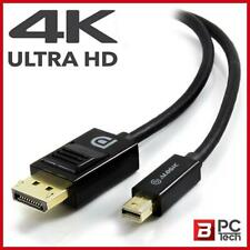 ALOGIC 2m Mini DisplayPort Cable Ver 1.2 Male to Male Supports 4k Ultra HD