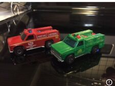 redline hotwheels Forest Fire And Rescue Trucks