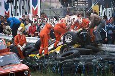 Rene Arnoux Renault RE30B Massive Crash Dutch Grand Prix 1982 Photograph 5