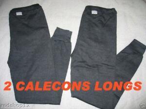 2 CALECONS LONGS - M  L  XL ou XXL - L'hiver arrive -
