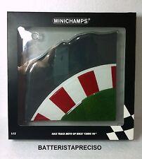 MINICHAMPS 312200010 TRACCIATO PISTA MOTOGP CURVA 90° 1/12 FIGURE-PERSONAGGI