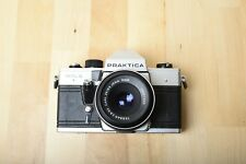 Praktica MTL 5 35mm SLR Film Camera with Zeiss Jena Tessar DDR 50mm F2.8 (READ)