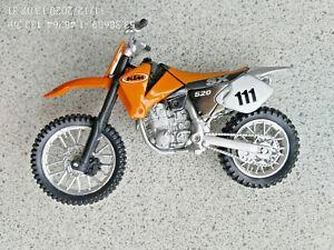 MAISTO 1/12th SCALE DIECAST MODEL KTM SX 520 MOTOCYCLE MOTOCROSS