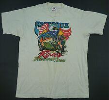 Rare Vintage Antique Motorcycles Races Eagle Harley Davidson T Shirt 80s 90s M