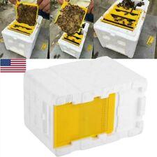 Pollination Beekeeping King Box Hive Harvest Bee Box Equipment Foam Frame Usa