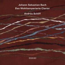ANDRAS SCHIFF - DAS WOHLTEMPERIERTE CLAVIER;4 CD CLASSIC SOLO PIANO JS BACH NEW+