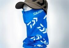 Daiwa Head Sock Head Tube blue and white for protection against wind and sun