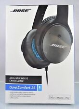 NEW IN BOX!~BOSE~QUIETCOMFORT 25~ACOUSTIC NOISE CANCELLING HEADPHONES~FOR APPLE