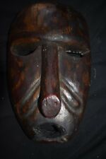 "orig $799 DAYAK MASK, EARLY1900S 14"" JEAN LAURANT EST"