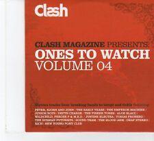 (FR46B) Clash Magazine: Ones To Watch Vol 4, 16 tracks various artists - 2006 CD