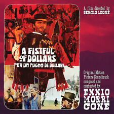 """Ennio Morricone - A Fistful Of Dollars Soundtrack 10"""" RED Vinyl LP Record"""