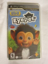 EyePet Adopt Ultimate Virtual Pet (PlayStation Portable, PSP) Brand New, Sealed~