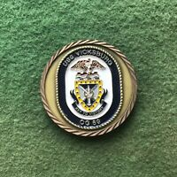 USN US Navy USS Vicksburg CG 69 Guided Missile Cruiser Ship Challenge Coin