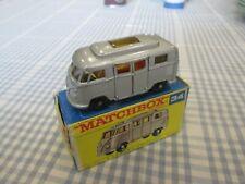 MATCHBOX No.34-VOLKSWAGEN CAMPER VAN -BOXED